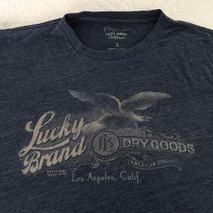 Lucky Brand T-shirt. Men's large